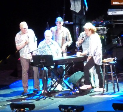 Out of the sandbox - Brian Wilson and the 'Boys on an ill-advised world reunion tour in 2012. © Desiree Koh